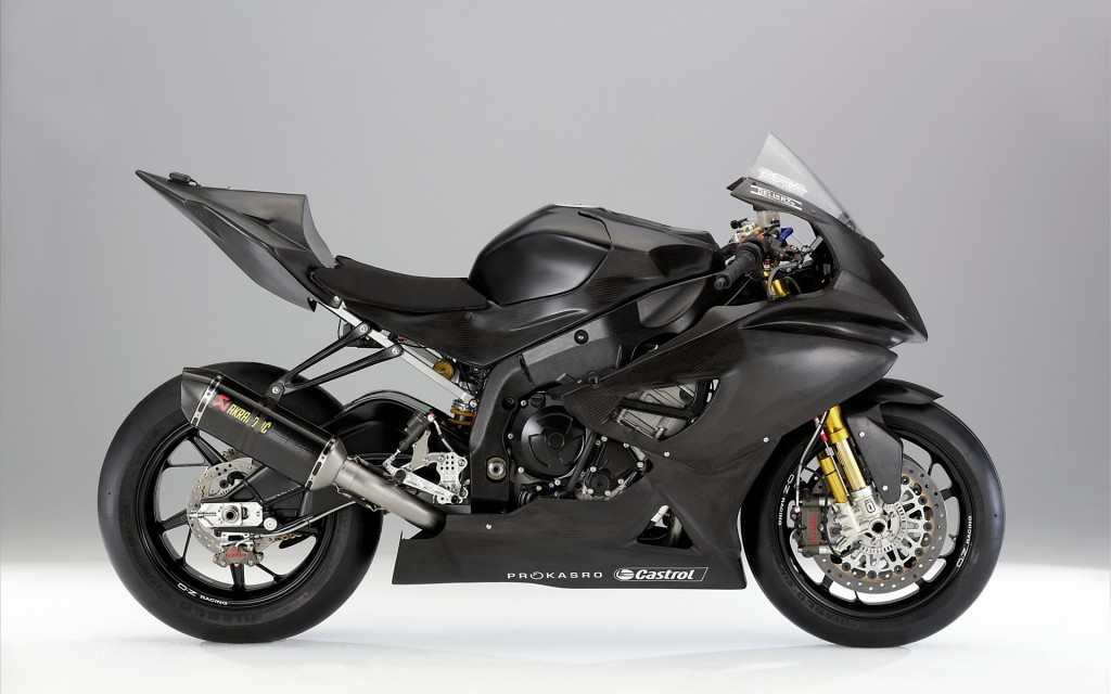 BMW S 1000 RR Black Wallpaper
