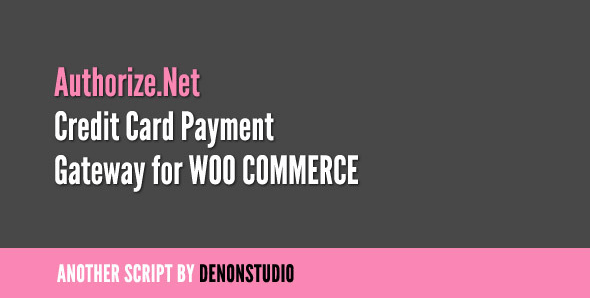 This WooCommerce plugin allows you to setup payment via credit card