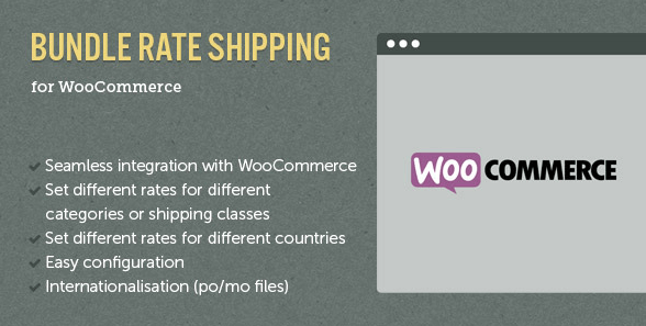 use bundle rate shipping for WooCommerce