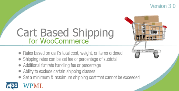 this WooCommerce shipping plugin helps you setup cart-based shipping methods