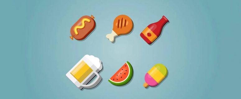How-to-create-a-Food-Icons-set-in-Illustrator