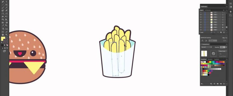 How-to-Create-a-Kawaii-Soda-Shop-Pattern-Vector-in-Illustrator