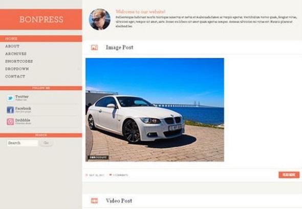 Bonpress - WordPress Responsive Theme