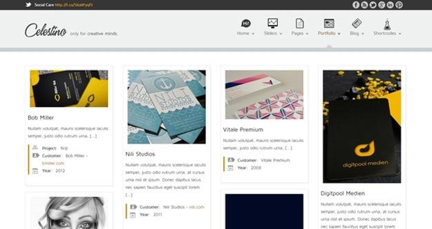 Celesteno - WordPress Responsive Theme