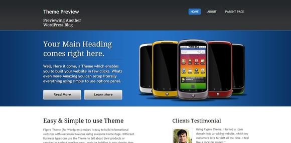 Figero - WordPress Responsive Theme