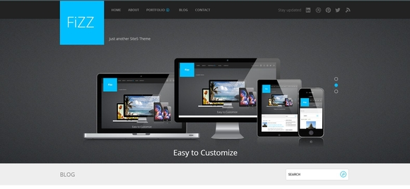 Fizz - WordPress Responsive Theme