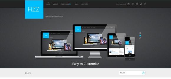 Fizz - WordPress Responsive Theme