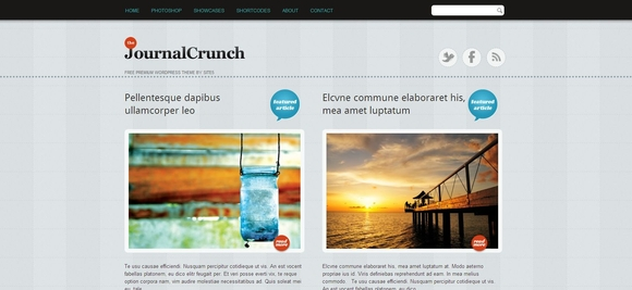 JournalCrunch - WordPress Responsive Theme