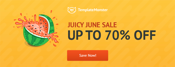 Templatemonster 70% off