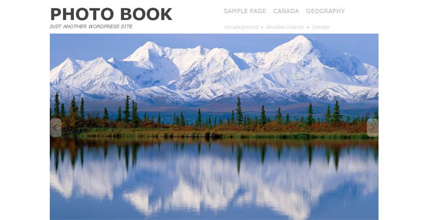Photobook - WordPress Responsive Theme