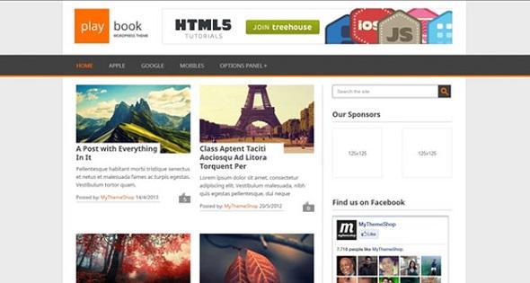 Playbook - WordPress Responsive Theme