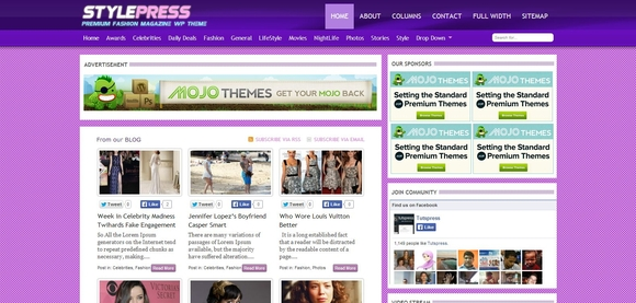 StylePress - WordPress Responsive Theme