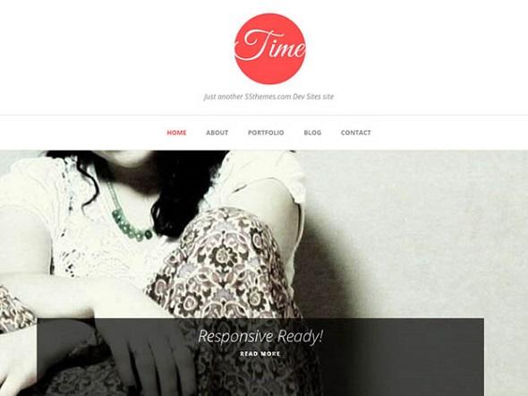 Time - WordPress Responsive Theme