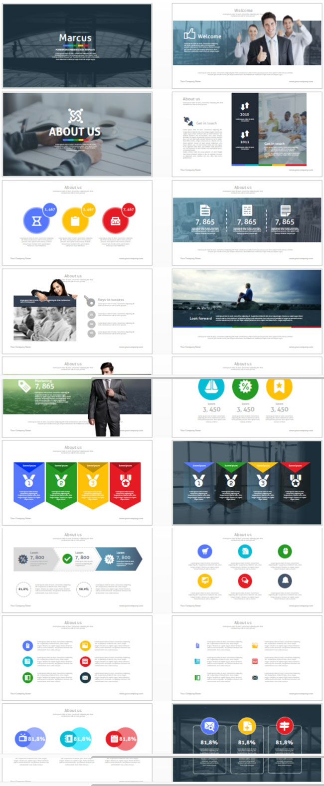 30+ Amazing Powerpoint Templates 2016 - DesignMaz
