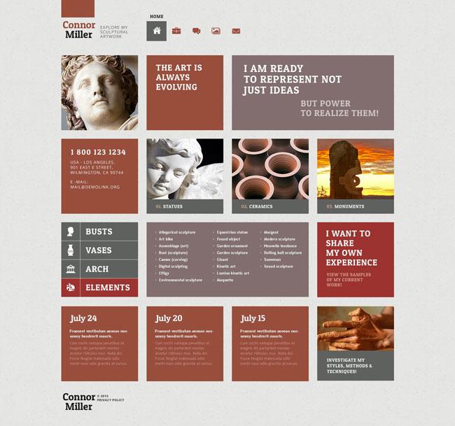 art-blog-wordpress-theme