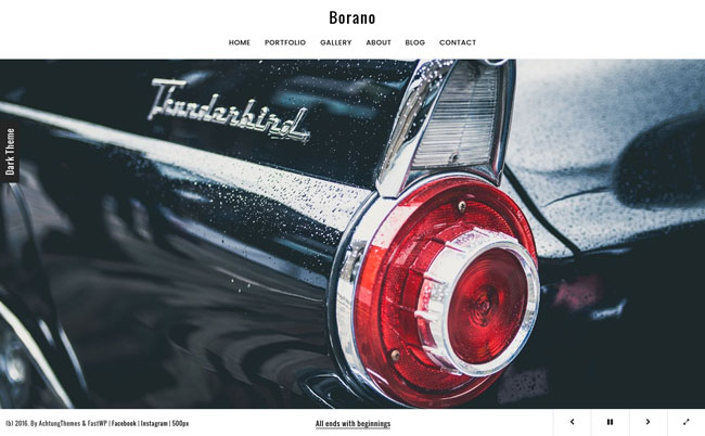 borano-photography-portfolio-wordpress-theme