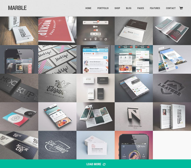marble-flat-responsive-creative-wordpress-theme