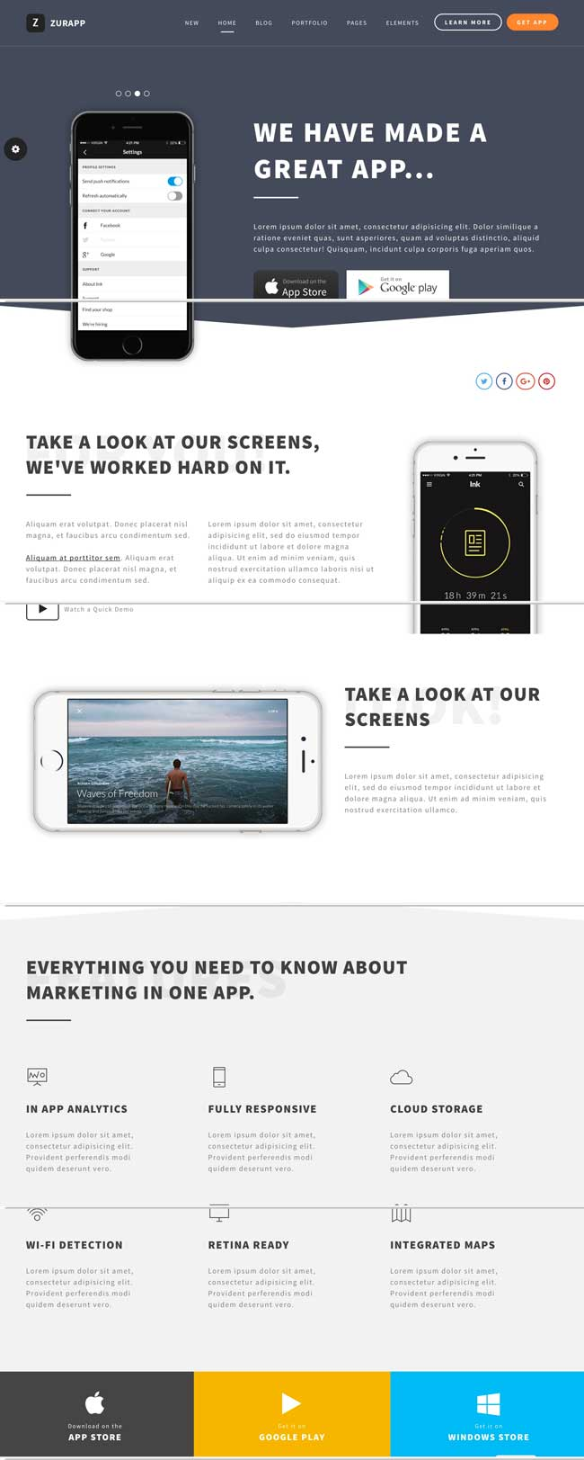 zurapp-multipurpose-app-saas-showcase-wordpress-theme