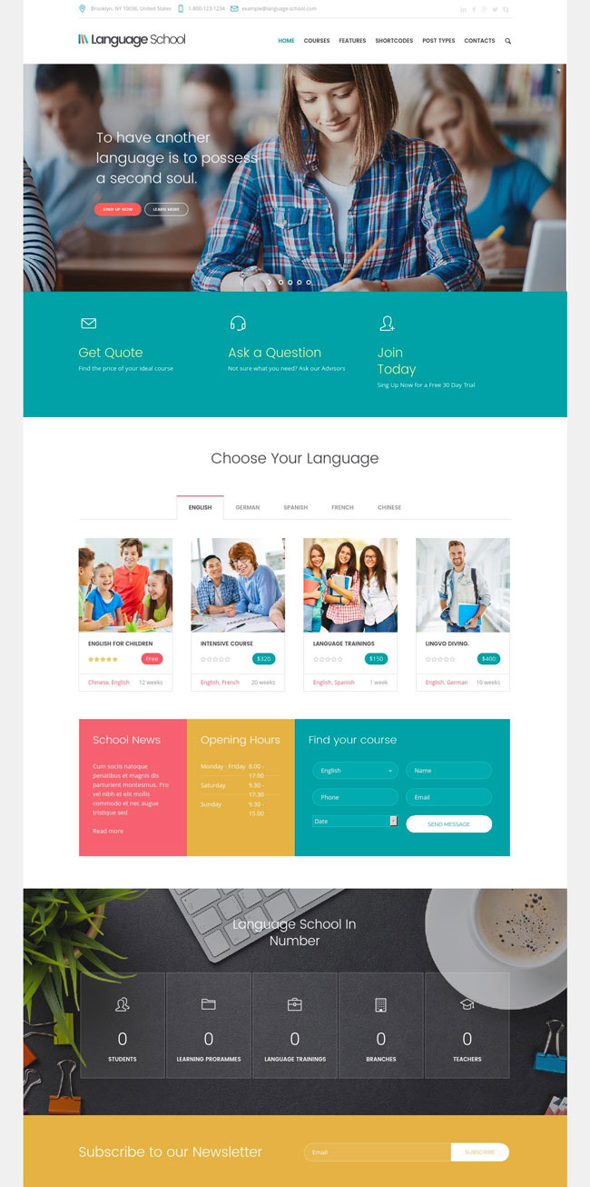 language-school-courses-learning-management-system-education-wordpress-theme