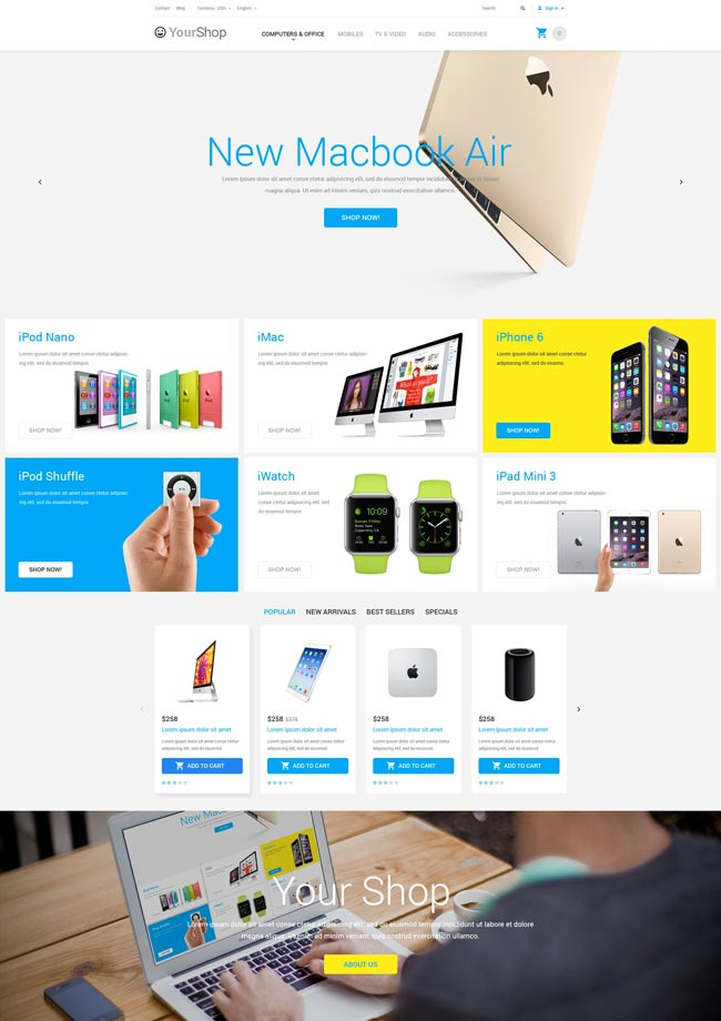 Electronic-Devices-Store-PrestaShop-Template