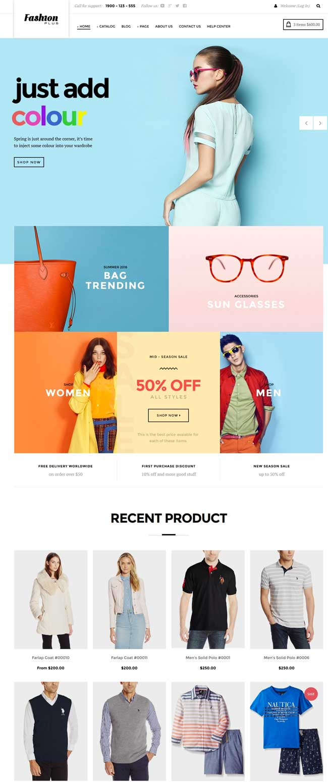 15 Best Fashion Store Shopify Themes 2016 Designmaz