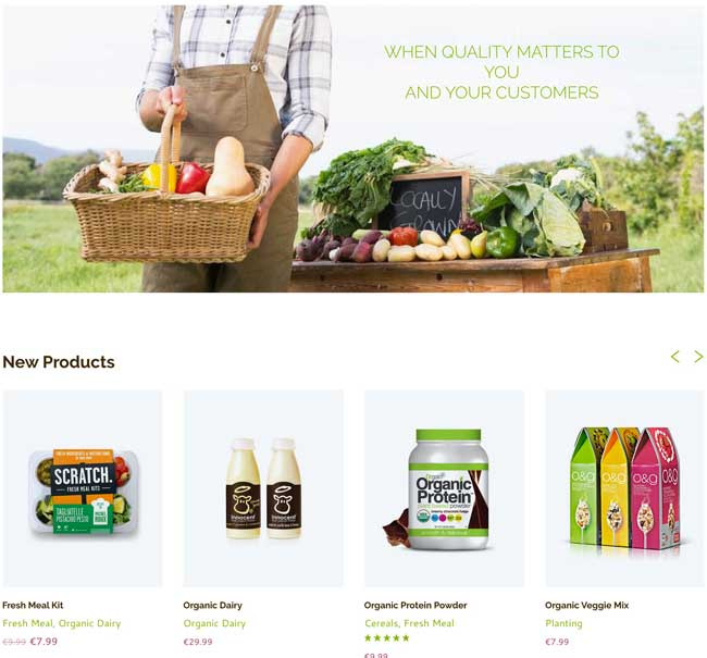 15 Best Woocommerce Themes For Organic Food And Drink