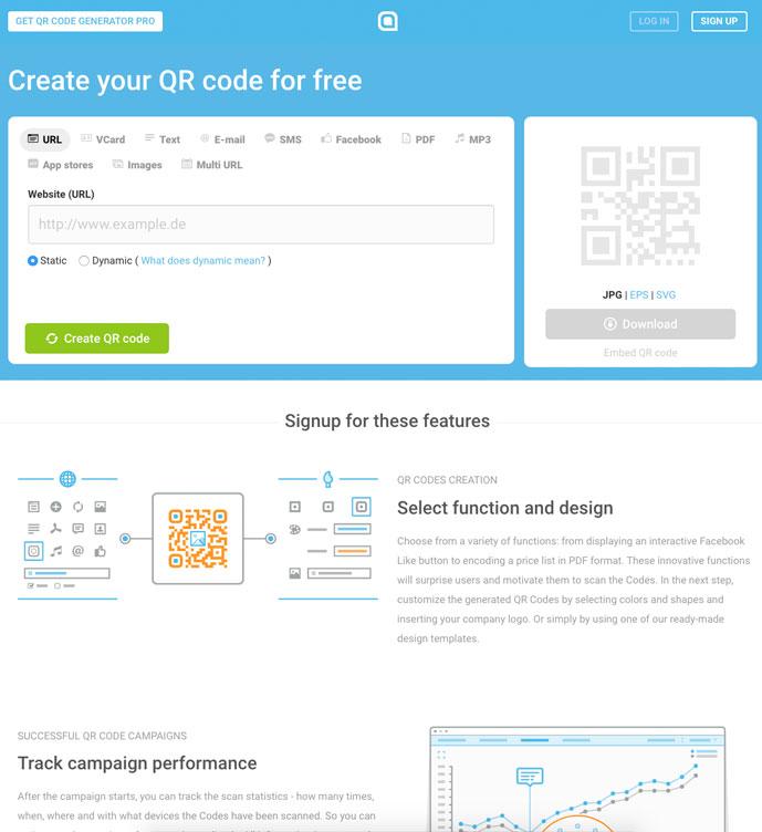 10 best free online qr code generator 2018 designmaz for Blueprint creator online free