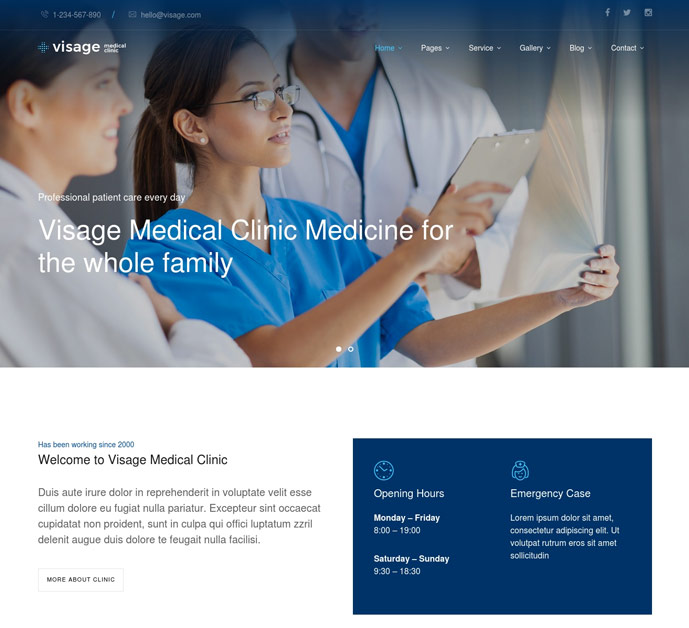 25+ Best Health and Medical WordPress Themes 2017 - DesignMaz