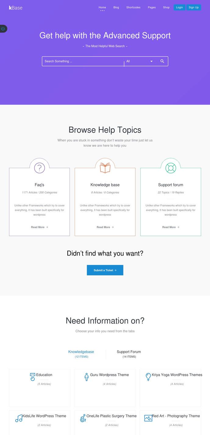 15 Professional Knowledge Base and Wiki Wordpress Themes 2017 ...