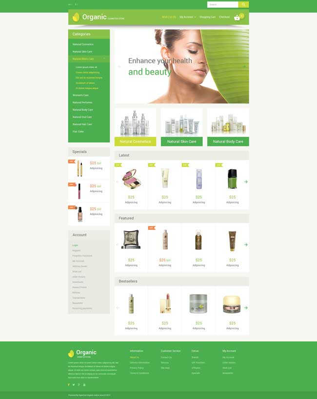 organic-cosmetics-opencart