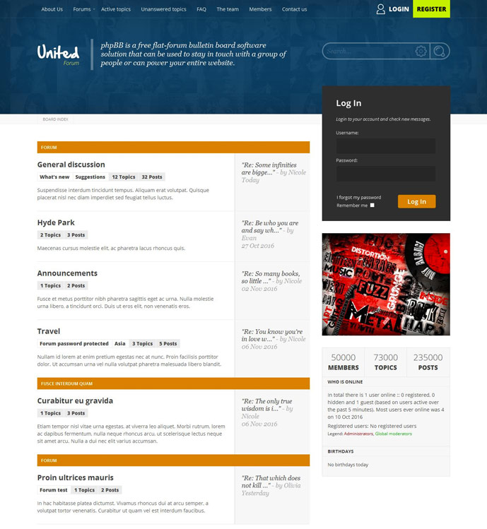 10+ Best Responsive phpBB Themes for Forum, Community sites 2017 ...