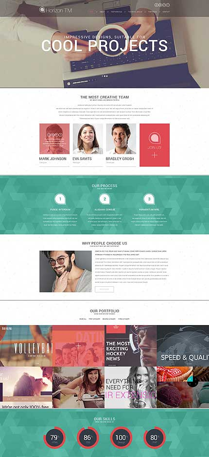 Cool-Projects-WordPress-Theme