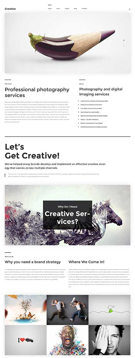 Creative-Photography-WordPress-Theme