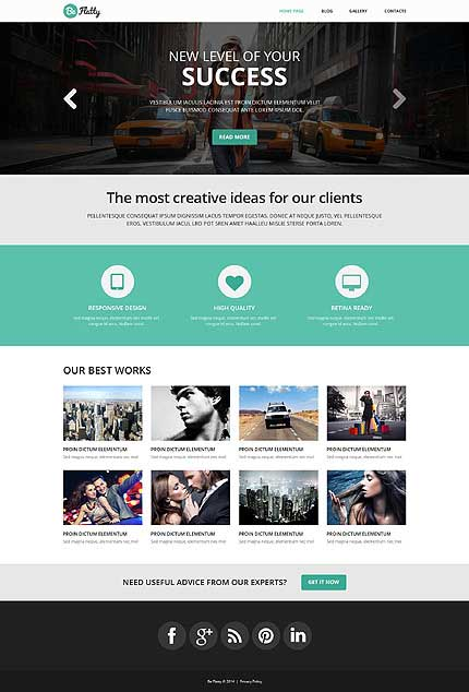 Creative-Project-WordPress-Theme