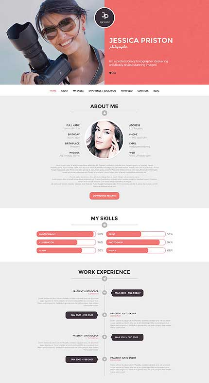 Photographer-Personal-Page-WordPress-Theme