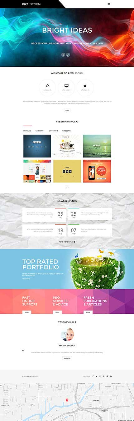 PixelStorm-WordPress-Theme