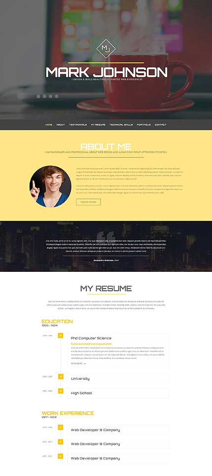 Web-Designer-Resume-WordPress-Theme