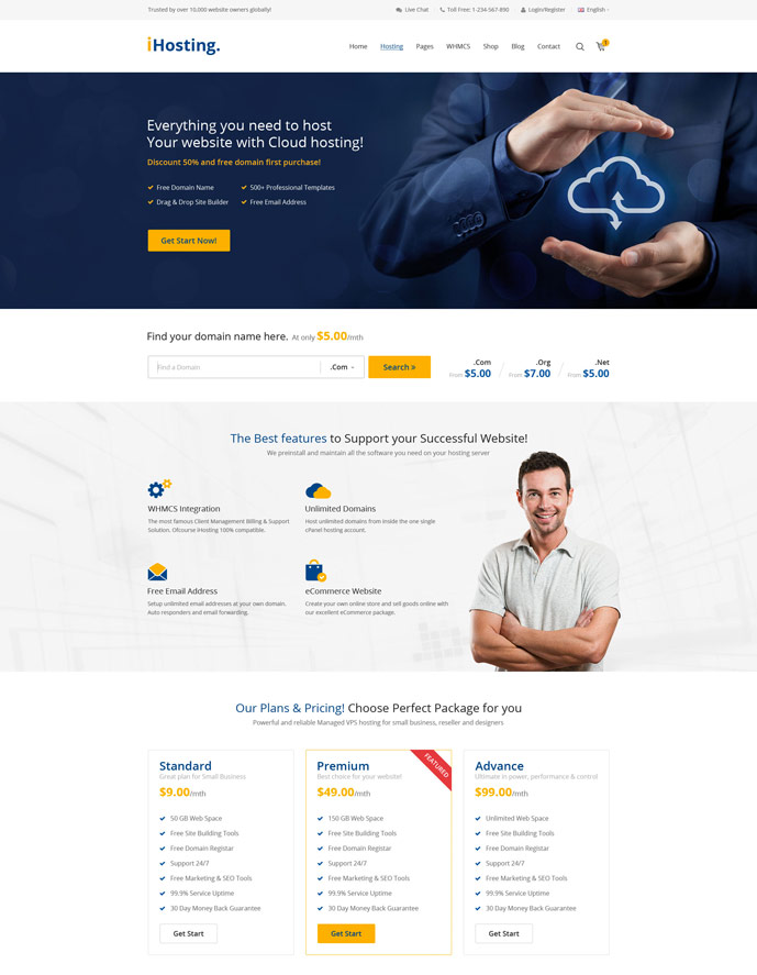 Multi Host Whmcs Hosting Wordpress Theme Nulled – Co-WP