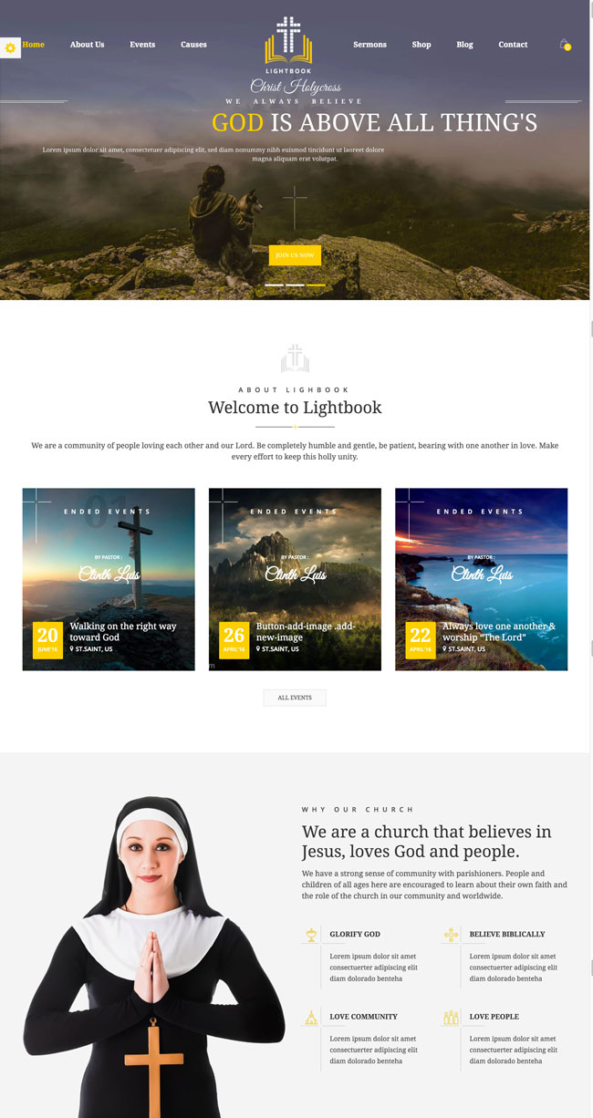 lightbook-church-and-events-wordpress-theme