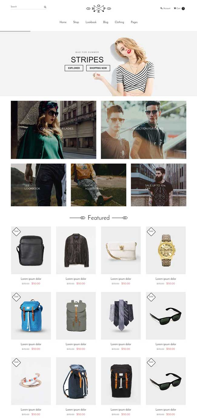 hope-responsive-ecommerce-bootstrap-template