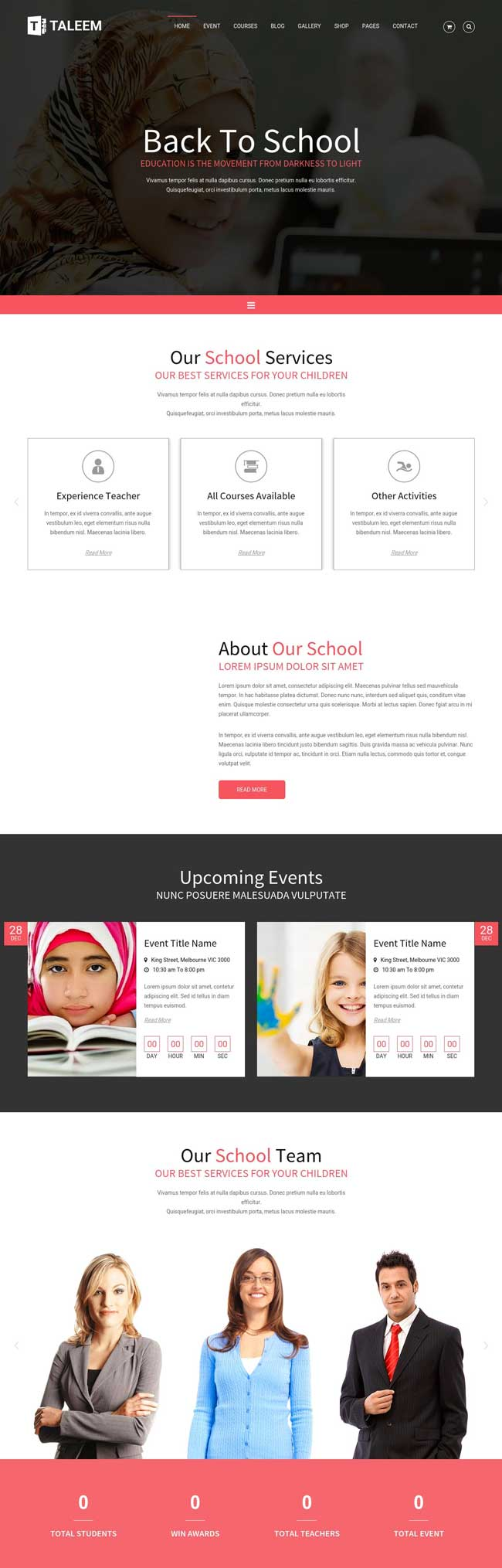 taleem-school-education-html5-template