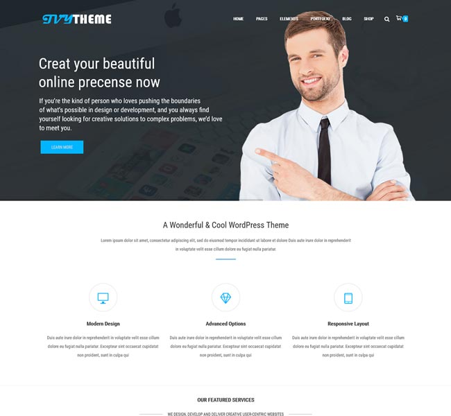 ivy-business-wordpress-theme