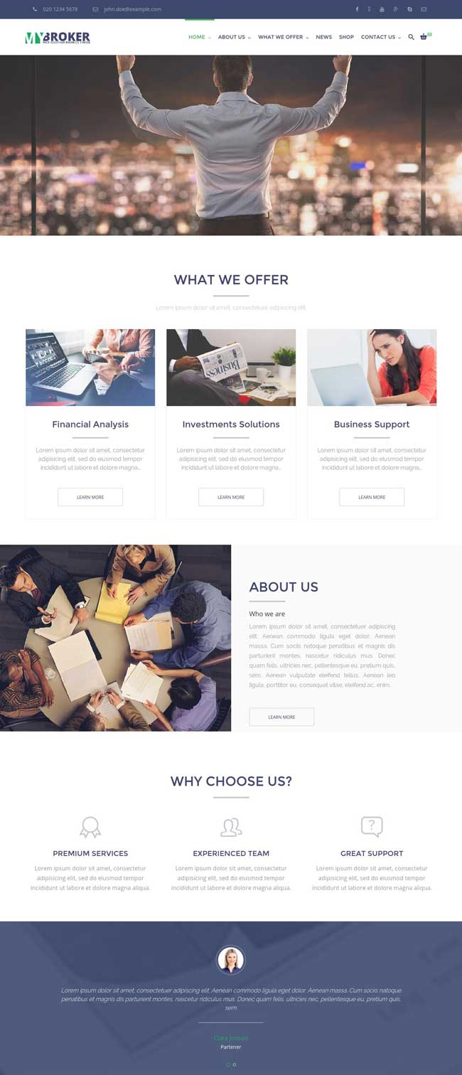 my-broker-business-and-finance-wordpress-theme