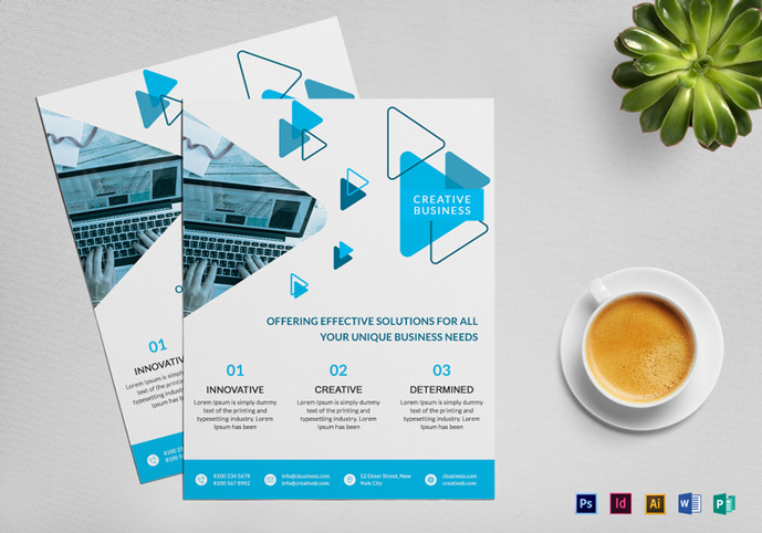 Editable Flyer Template Idealstalist