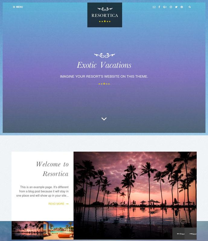 10+ Best Free Hotel WordPress Themes 2017 - DesignMaz