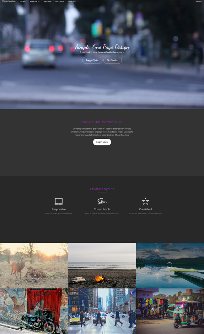 landing-zero-free-landing-page-theme-with-video-background