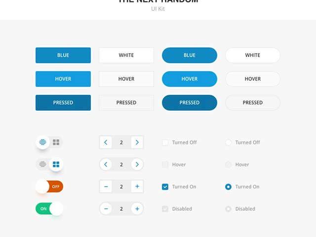 Free Minimal Form UI Kit Sketch | Free download