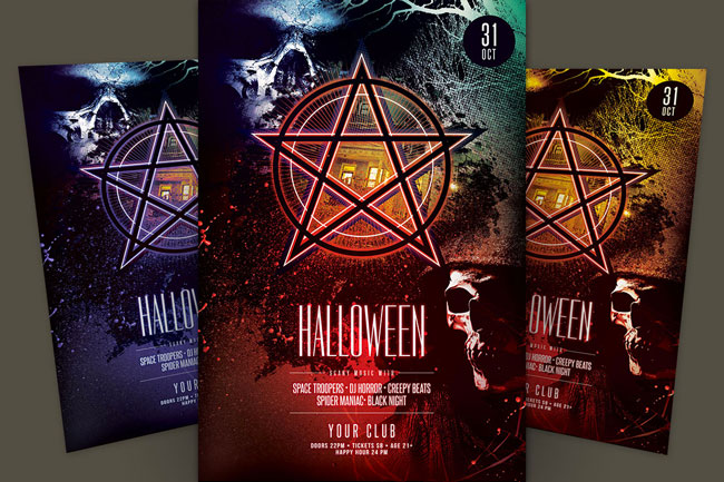 creative-halloween-psd-flyer