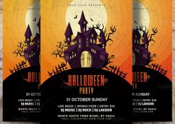 vintage-halloween-party-flyer