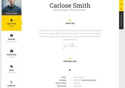 the-book-personal-vcard-template